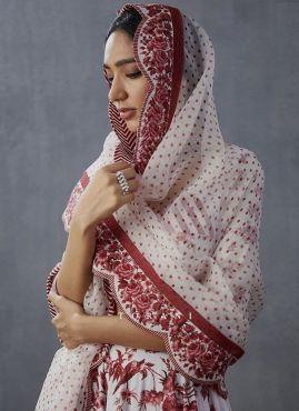 Wedding Special White Lehenga Choli